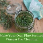 How To Make Pine Vinegar For Cleaning