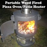 Portable Wood Fired Pizza Oven/Patio Heater