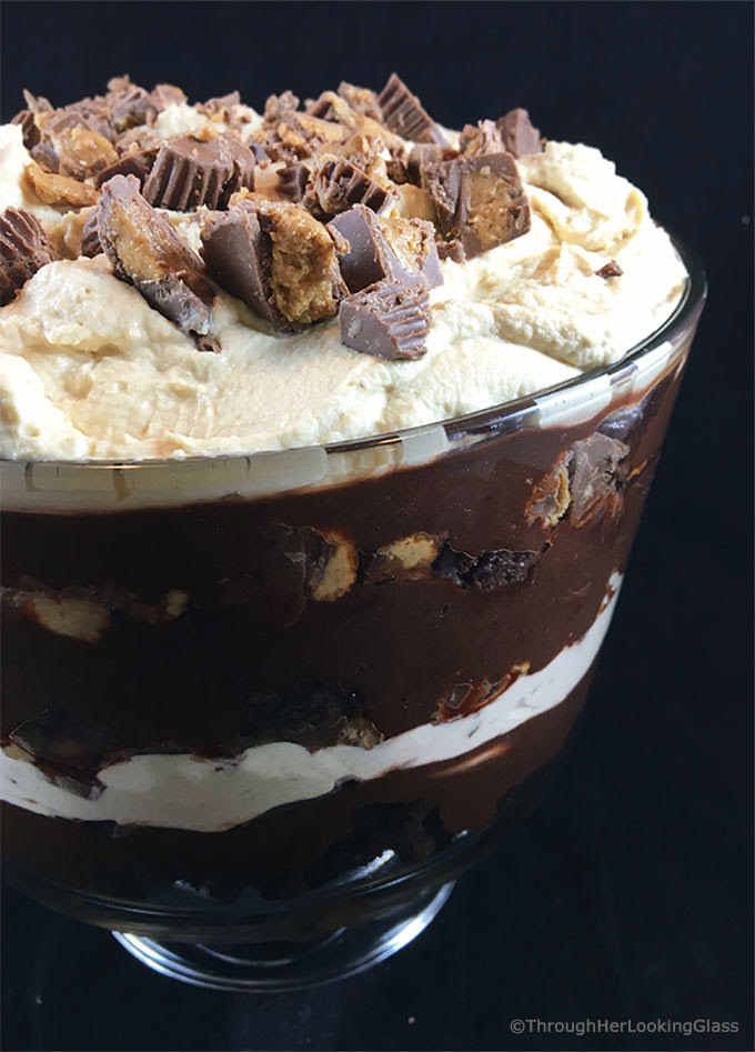 REESE'S CHOCOLATE PEANUT BUTTER TRIFLE