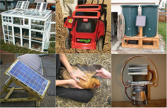 Rain Barrels, Chicken Coops, and Solar Panel Projects To Get You Off The Grid