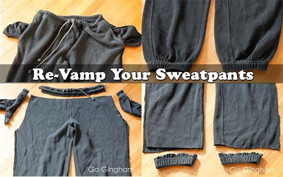 Re-Vamp Your Sweatpants