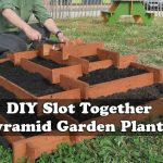 Slot Together Pyramid Garden Planter