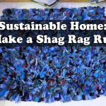 Sustainable Home: Make a Shag Rag Rug