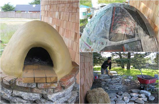 The Cob Oven DIY Outdoor KitchenPizza Oven