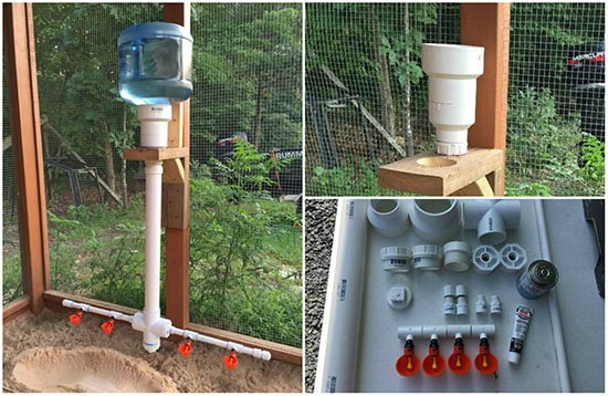 The Ultimate PVC Chicken Watering System