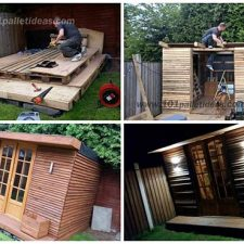 Tiny Pallet House or Cabin: DIY Tutorial