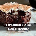 Tiramisu Poke Cake Recipe