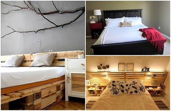 Unique Wooden Pallet Bed Ideas