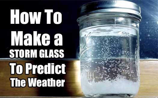 Snow Storm In A Jar Experiment