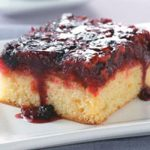 Upside-Down Berry Cake Recipe