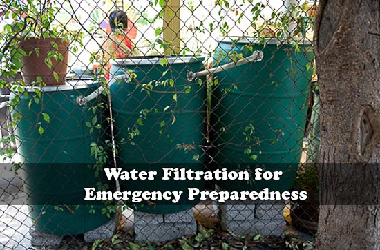Water Filtration for Emergency Preparedness