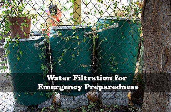 Water Filtration for Emergency Preparedness