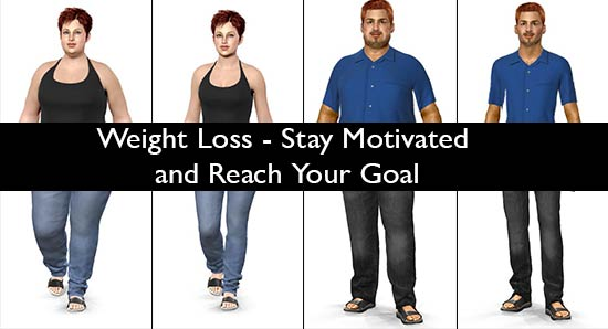 Weight Loss - Stay Motivated and Reach Your Goal