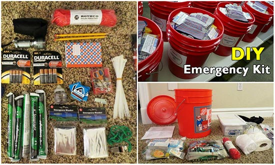 What You Need in Your 5 Gallon Emergency Kit Bucket