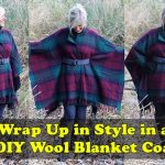 Wrap Up in Style in a DIY Wool Blanket Coat