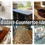15 Budget Countertop Ideas