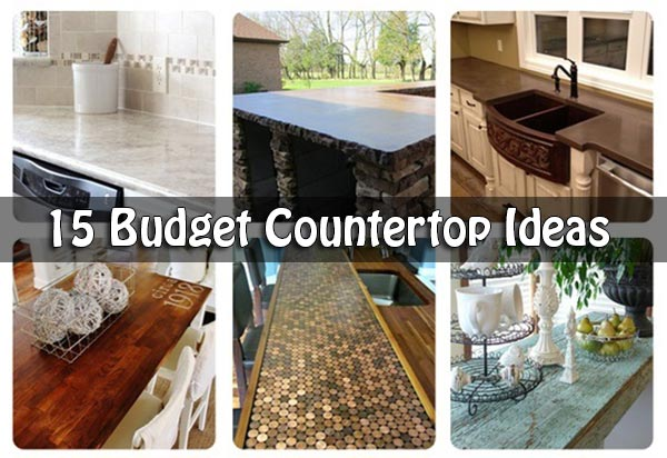 Countertop Ideas 15 budget countertop ideas