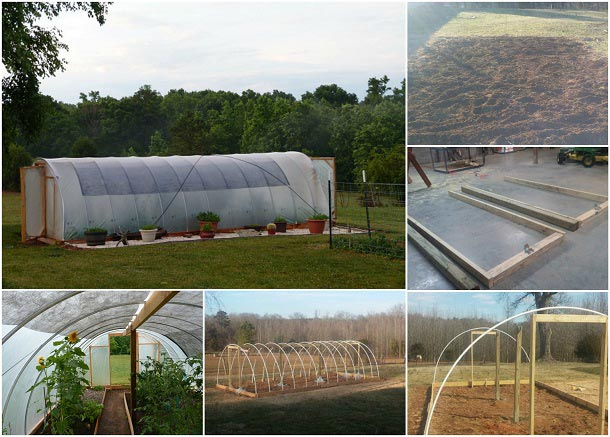 Build A 300 Square Foot Windproof Hoop House For Under $500