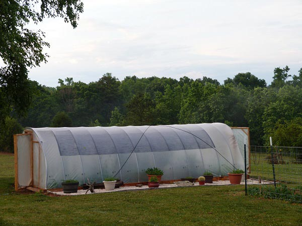 How To Build A 300 Square Foot Windproof Hoop House