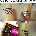 How To Print On Candles With Tissue Paper