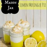 Mason Jar Lemon Meringue Pies