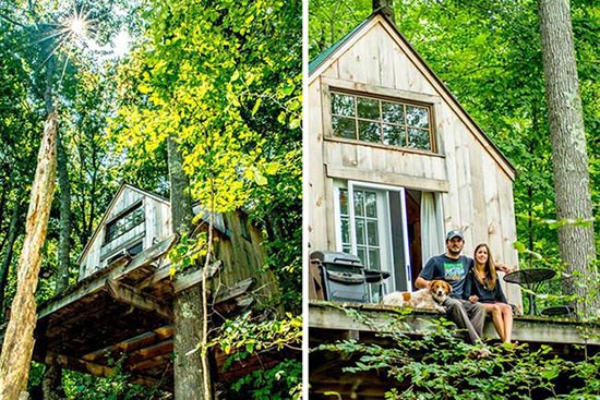 Forest Home Built in 6 Weeks for $4,000